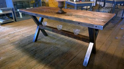 Table with X Base