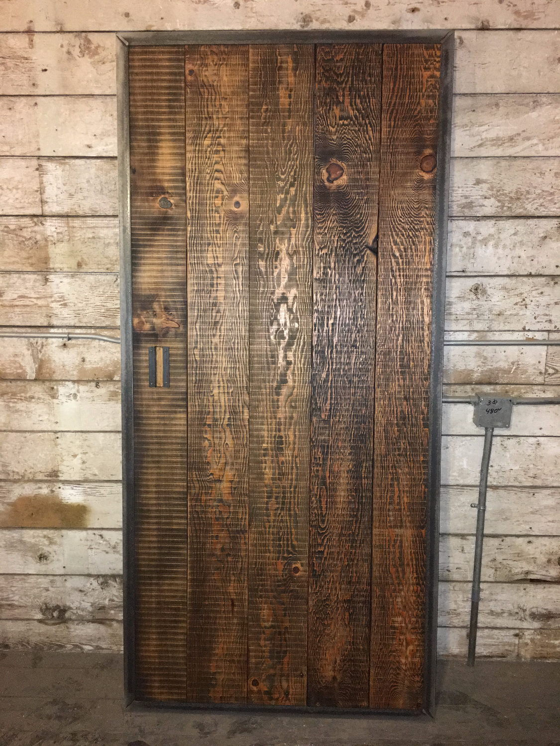 Barn Door Back Side