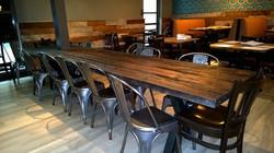 Restaurant Long Table