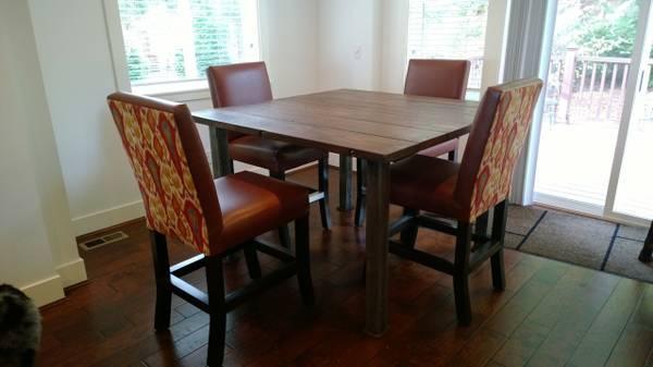 Custom Square Table