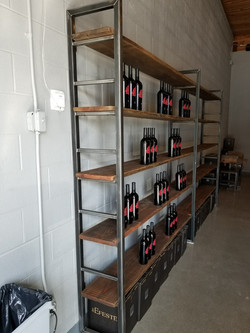 Winery Shelving