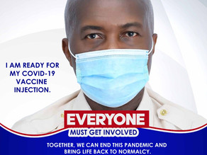 Stephen Ntim urges  Ghanaians to Accept the Covid-19 Vaccinations