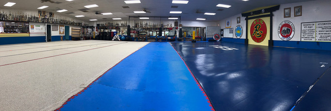 Our training area