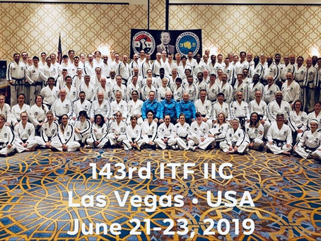 143rd ITF Instructor Course -  Las Vegas 06/2019