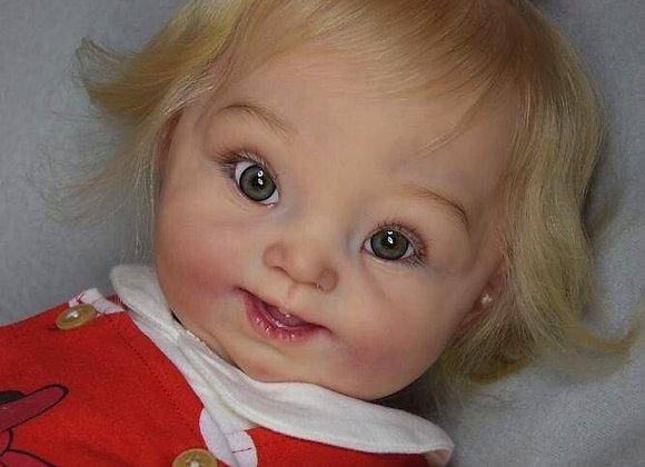 "Vinyl Kit ""MaryJo"", Toddler with Down syndrome (blank Vinyl kit)"
