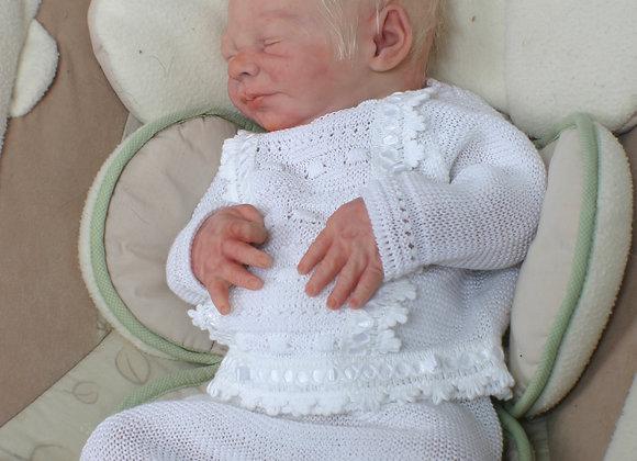 "'Everlee"" Sleeping Newborn Full Body Silicone Boy Kit (NOT painted)"
