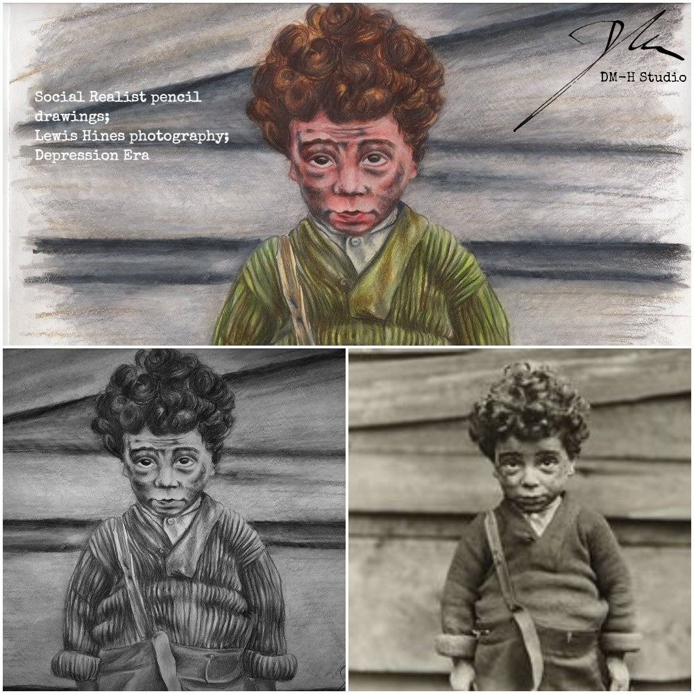 Lewis Hines Depression Era Boy