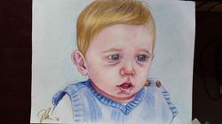 color pencil boy
