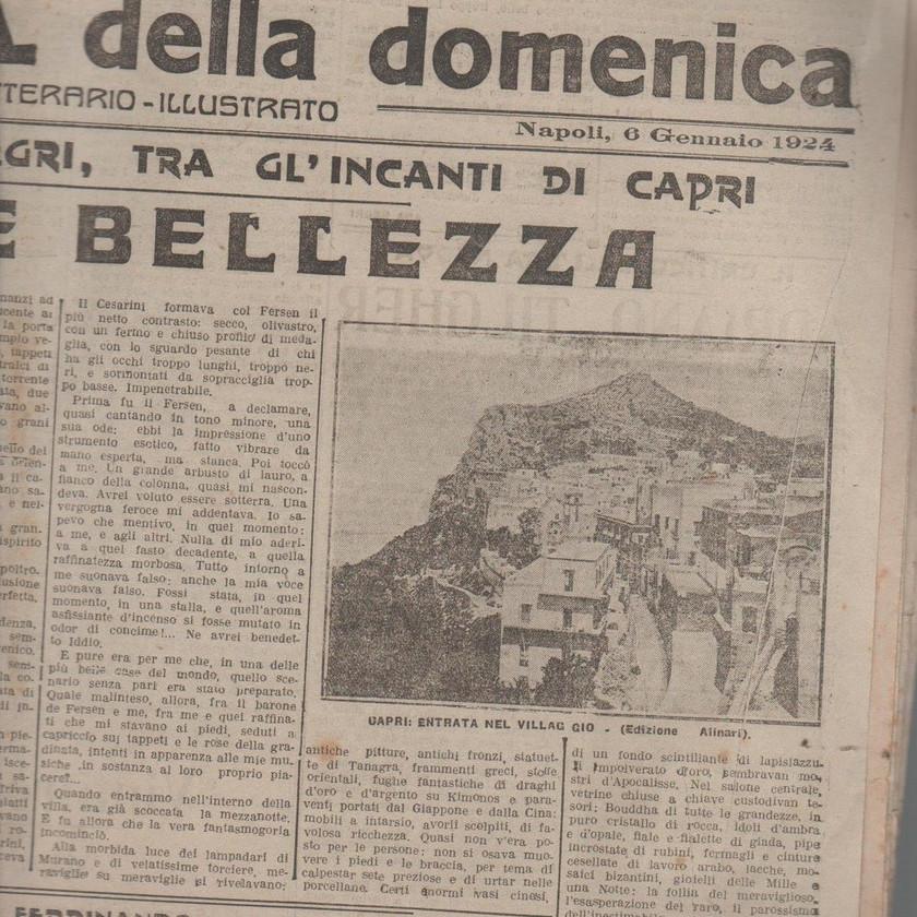 Il roma, giornale della domenica
