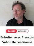François Vatin, Editions Laborintus, NONFICTION