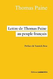 thomas paine, préface de Yannick Bosc