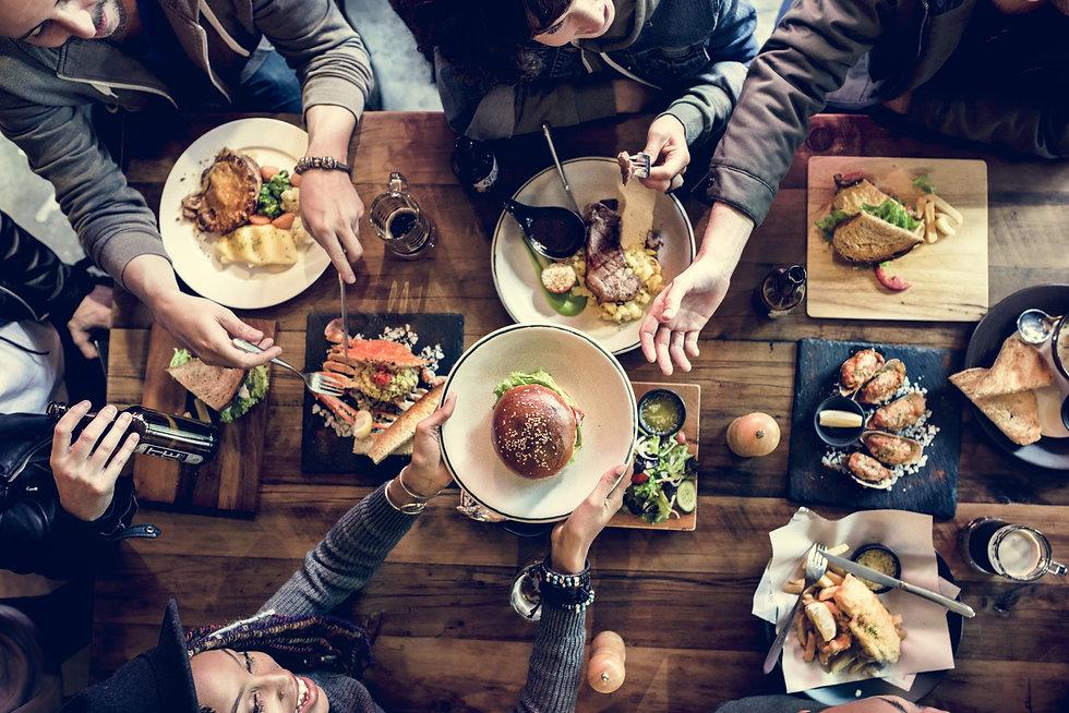 Restaurant food marketing business