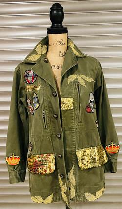 veste femme personnalisé army uriel