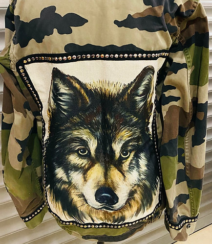 Veste army le Loup
