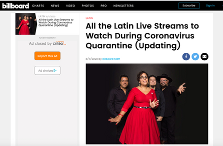 Todas las transmisiones latinas en vivo para ver durante la cuarentena de coronavirus (actualización