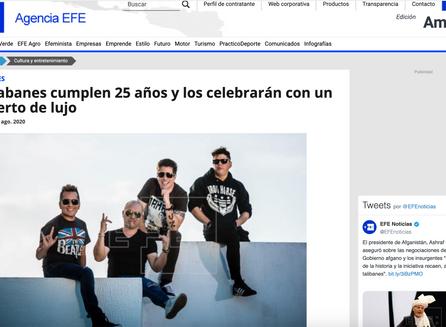 Los Rabanes cumplen 25 años y los celebrarán con un concierto de lujo