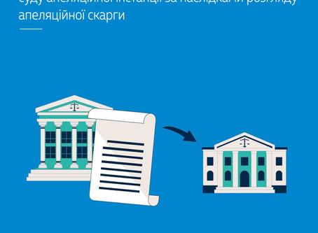 Результатом розгляду апеляцій може бути лише один документ