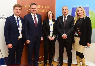 Адвокат Михайло Козачук & ECHR Judges.JP
