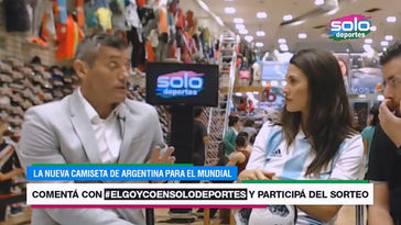 FSN para Solo Deportes (Live) - Camiseta adidas Argentina 2017