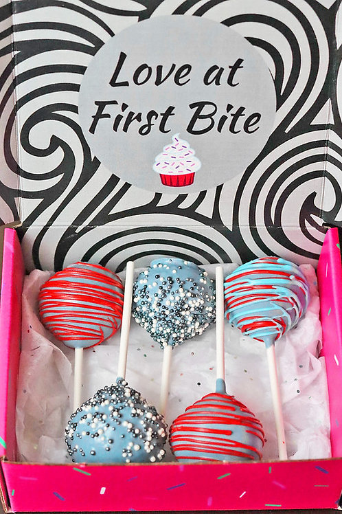 6 Count Cake Pops
