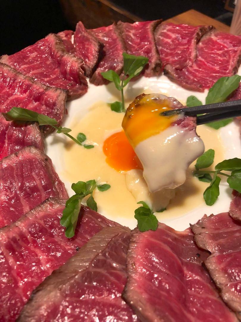 熟成京風肉ボナーラ