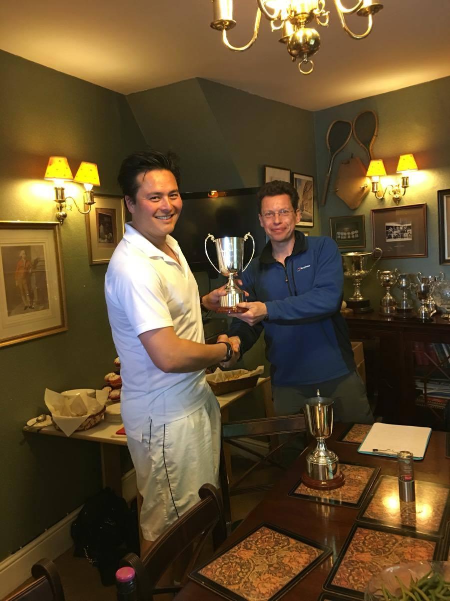 Hertford Div 2 2016 winner G Foxall