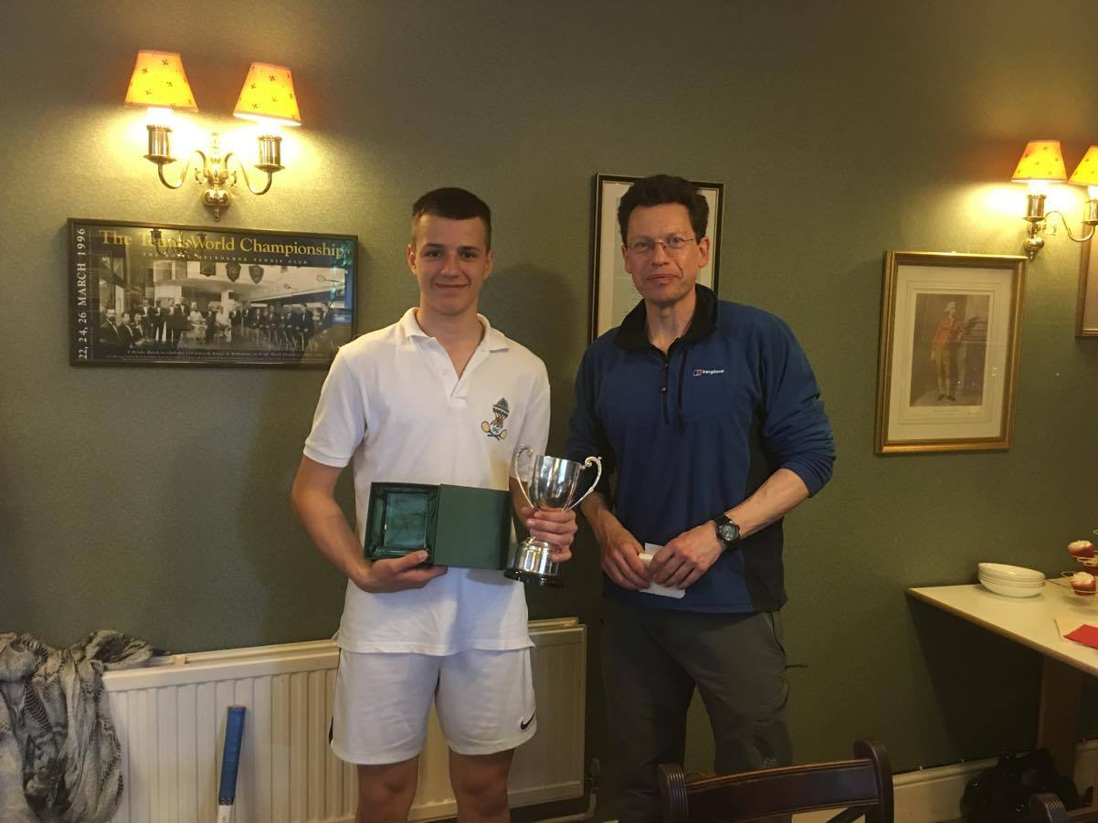 Peter Brodie Trophy 2016 winner - Vlad R