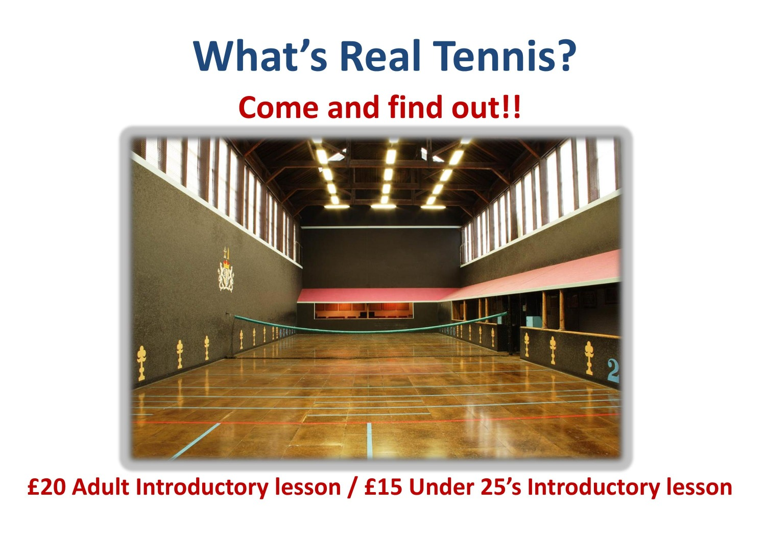 What's Real Tennis?