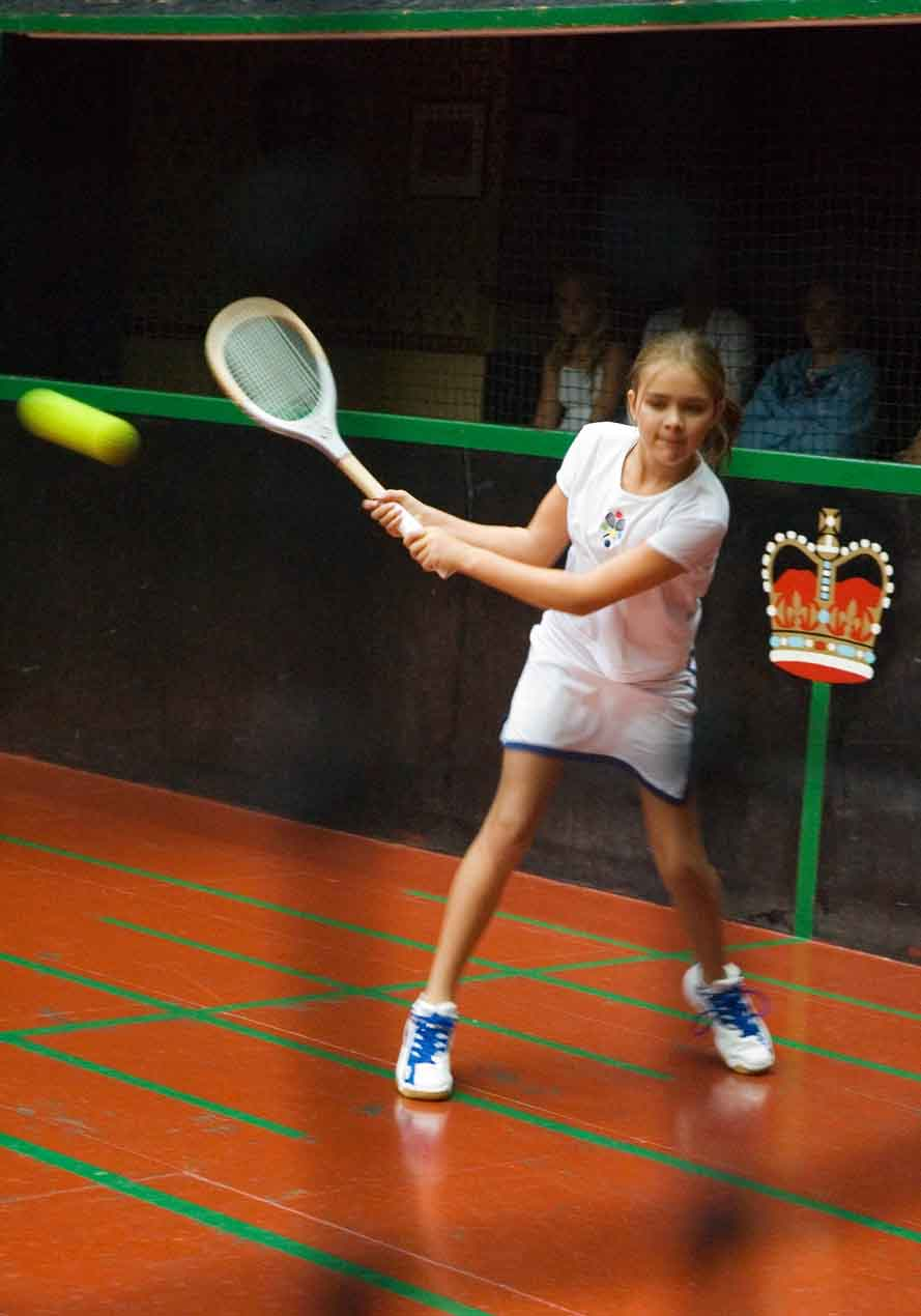 Junior Real Tennis