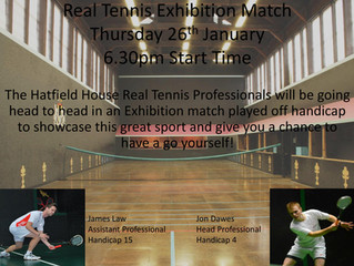 Real Tennis Exhibition Match