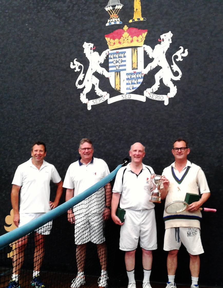 Rosenthal Cup (Club Handicap Doubles)- Winners 2016 - Tim Harper & Andrew James