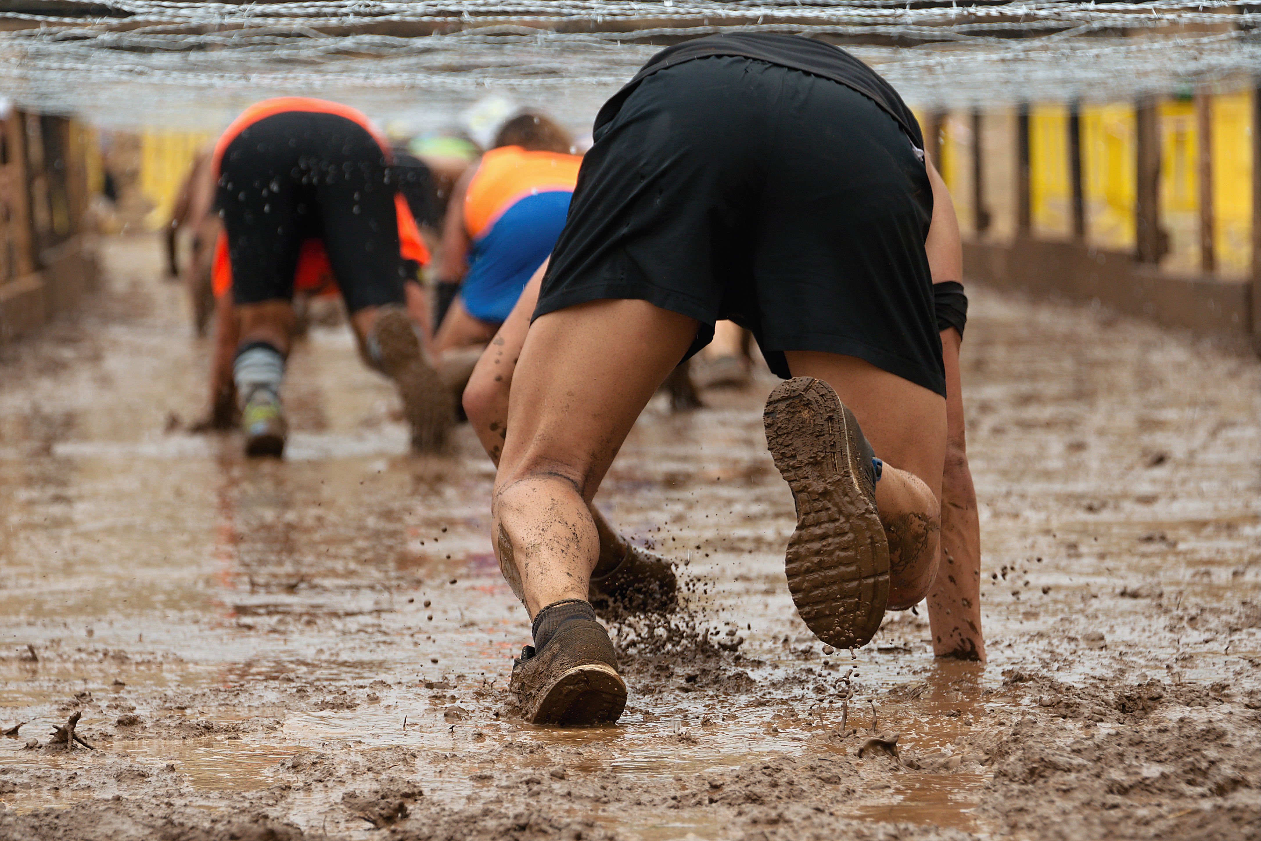 Mud Obstacle Course