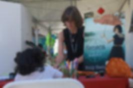 Emily at book festival.JPG
