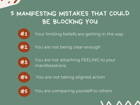 5 Manifesting Mistakes That Could Be Blocking You