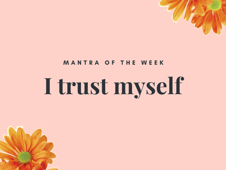 Mantra of the week