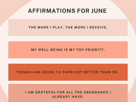 Affirmations for June