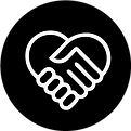 Helping Hand Icon aide coeur