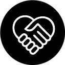 Icône Aider à la main
