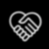 Ajudando ícone da mão