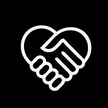 Helfende Hand-Symbol