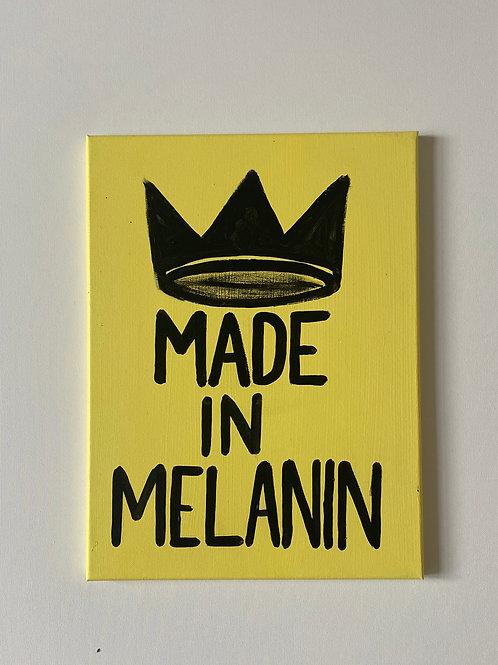 Made In Melanin Yellow