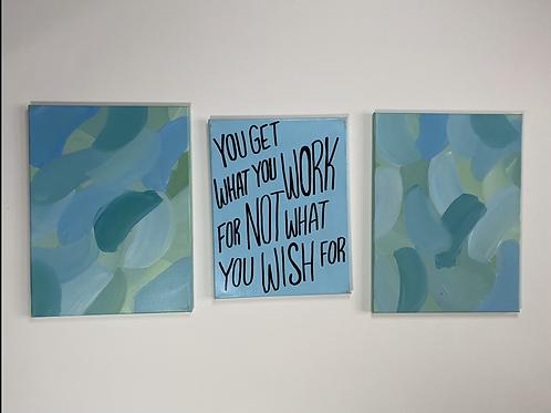 Blue Quote set