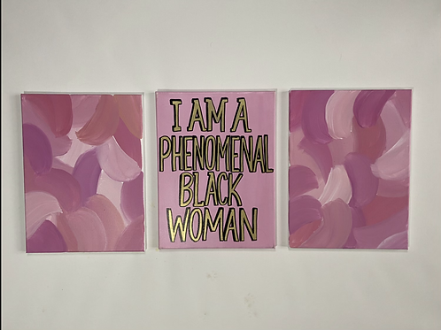 Pink Quote Set