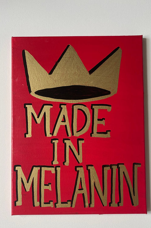 Made In Melanin Red