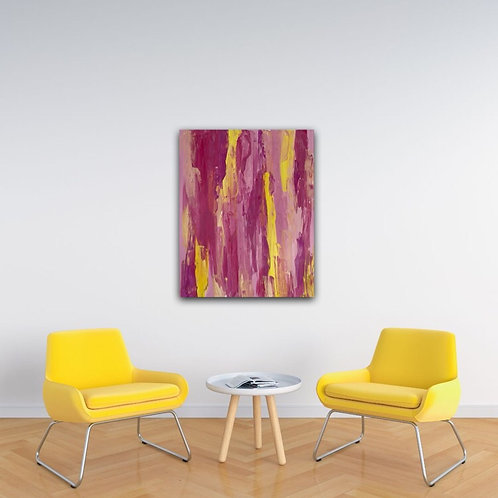Abstract Pink Piece