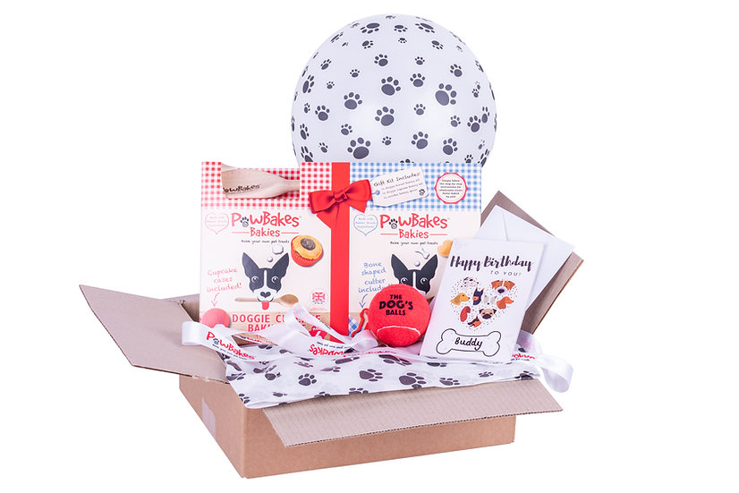 The PawBakes Birthday Box