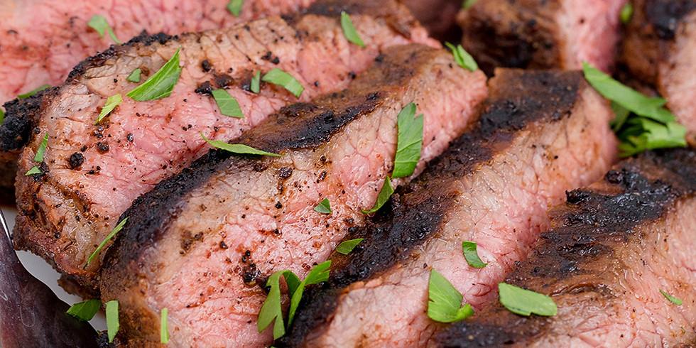 BBQ Tri-tip Dinner Server