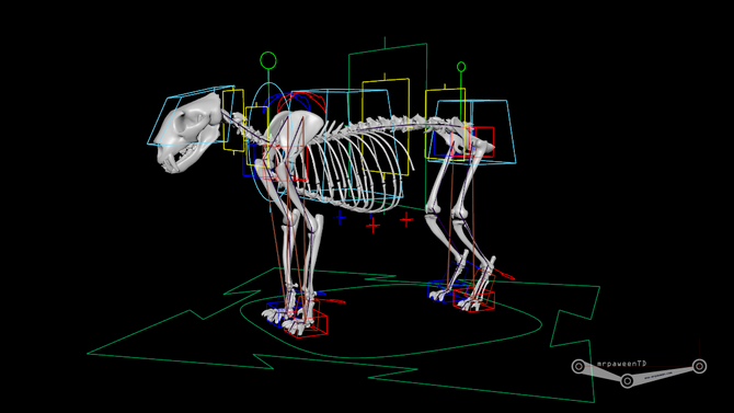 Creature rigging system analysis
