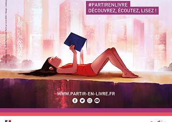 CNL PartirEnLivre 2020-Affiche officiell