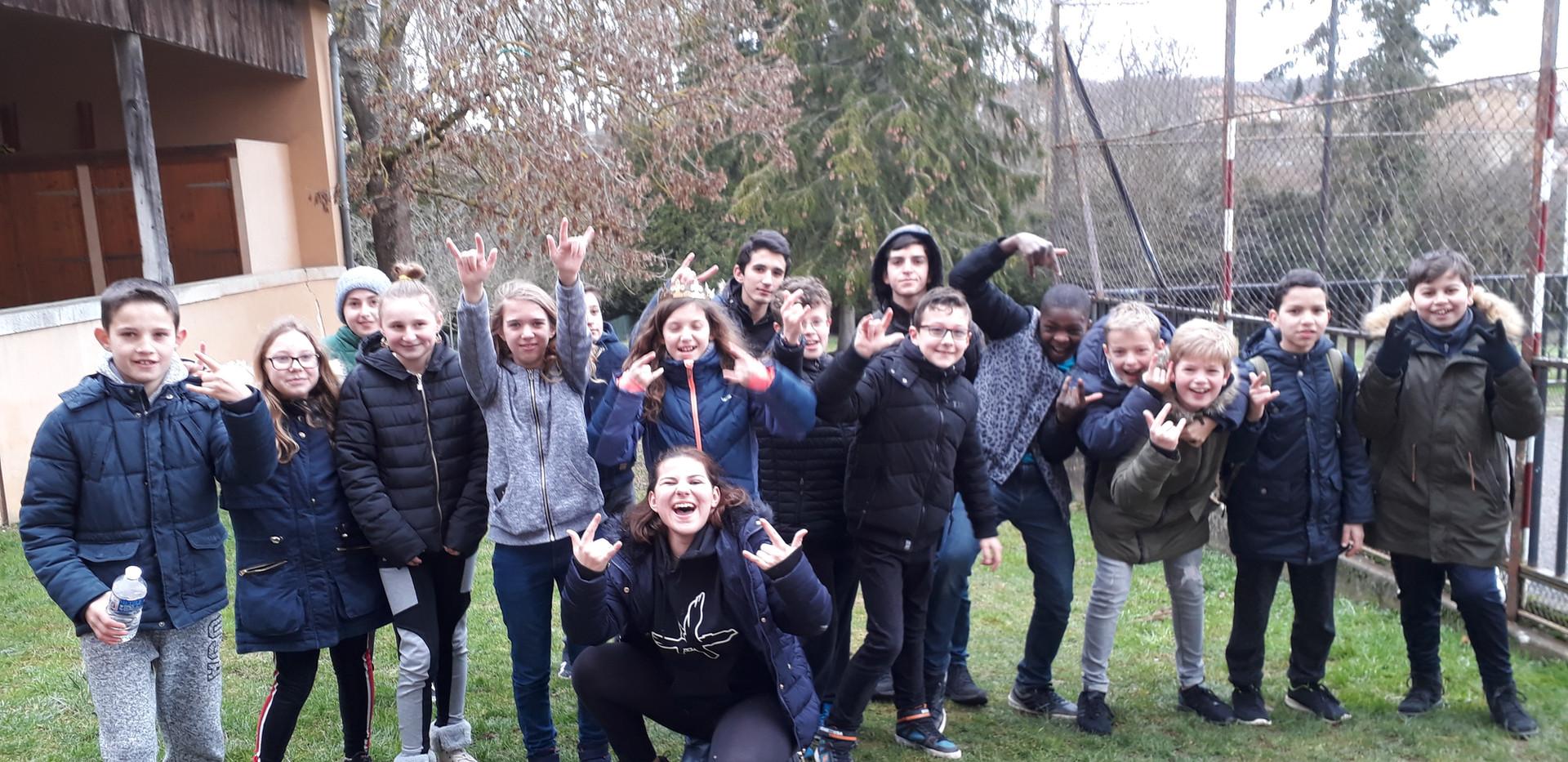 les jeunes du projet rencontre(s)
